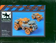 Blackdog Models 1/35 BRITISH HUMBER Mk.III ARMORED CAR Resin Detail Set