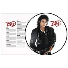 Michael Jackson - Bad (1LP Picture Disc Vinyl) 2018 Epic NEU!