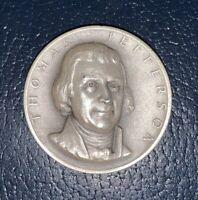 Medallic Art Co .999 Silver Presidential Medal Coin Thomas Jefferson