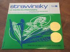 Stravinsky Le Sacre du Printemps BOULEZ CONCERT HALL TURICAPHON LP SMS-2324 EX