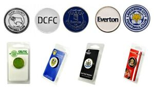 Golf Ball Marker Official Football Club Double Sided Celtic Newcastle Spurs