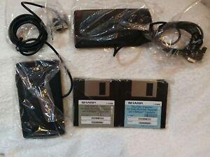Sharp Wizard OZ-640PC *ACCESSORIES ONLY: HARD DISCS,DOCKING STATION,PAPERWORK