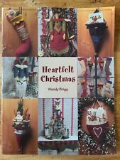 Heartfelt Christmas Felting &Fabric Projects Wendt Brigg Was $18.00