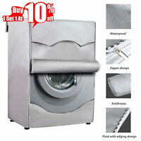 Washing Machine Cover Waterproof Dustproof Cover Fit For Front Load Washer/Dryer