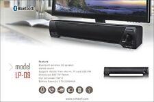 LP-09 Soundbar Bluetooth TV Home Theater 3D Surround Stereo Bass Speaker USB