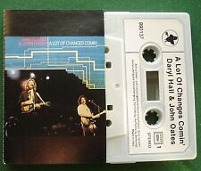 Daryl Hall & John Oates A Lot of Changes Comin' Cassette Tape - TESTED