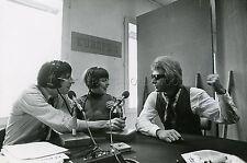 JOHNNY HALLYDAY MIREILLE MATHIEU PATRICK TOPALOFF 70s VINTAGE PHOTO ORIGINAL