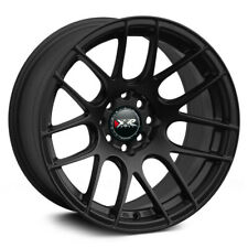 15X8.25 XXR 530 4x100/114.3 +0 Flat Black Wheels (Set 4)