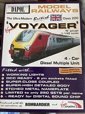 More details for dapol 'n' gauge nd-063 class 220 'mersey voyager' 4 car diesel multiple unit