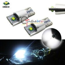 Xenon White CAN-bus CREE Error Free 2825 W5W LED Bulbs For Parking Postion Light