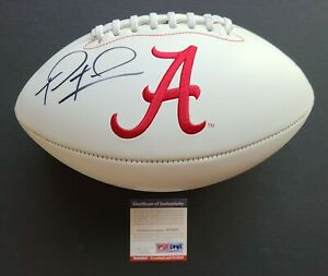 Tua Tagovailoa Signed Auto Full-Size Alabama Crimson Tide Football PSA/DNA COA