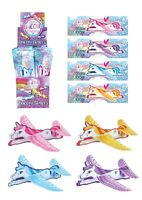 UNICORN FLYING GLIDER PLANES BOYS GIRLS LOOT PINATA BIRTHDAY PARTY BAG FILLERS