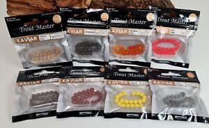 Spro TM Trout Master Kavier 7mm 8 Farben Forellenangeln Forellenköder NEW OVP