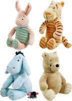 Classic Winnie the Pooh Piglet Tigger Eeyore Baby Soft Toy