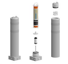 "Air Compressor Purification Tower 21"" 6000 Psi - Scuba Diving Dive Mako Bauer"