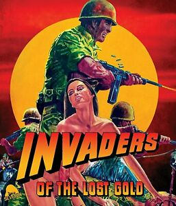 Invaders of the Lost Gold BLU-RAY Severin Films