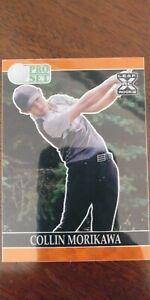 Collin Morikawa 2021 Leaf Pro Set Metal Golf ORANGE WAVE 6/10 Rookie RC PGA