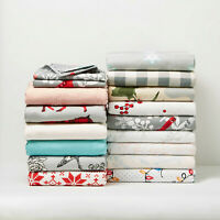 New Mainstays Dyed Flannel Cotton Sheet Set Multiple Colors And Sizes