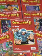 DRAGON BALL SUPER (Serie ROJA) Números 1 a 15 NUEVOS + REGALO Figura GASHAPON