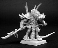 1 x KHONG-TO REPTUS - WARLORD REAPER miniature figurine rpg jdr dragon 14092