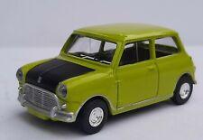 Norev 3 inches 1/64. Mini cooper s 1963. Vert/noir Neuf en boite.