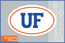 Florida Gators BLOCK UF LOGO EURO DECAL #1 Vinyl Decal Car Truck Window Sticker