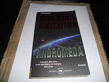 MICHAEL CRICHTON-ANDROMEDA-ELEFANTI-GARZANTI-2005