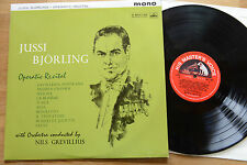 JUSSI BJÖRLING Operatic Recital HMV ALP 1841 UK nm!  Nils Grevillius Bjorling