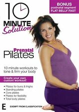 10 Minute Solution - Prenatal Pilates DVD R4 New Sealed