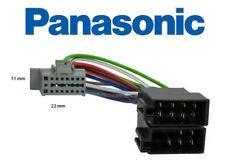 Cable adaptateur ISO pour autoradio PANASONIC 16 pins