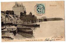 CPA 49 - ANGERS (Maine et Loire) - Erigné et la Roche de Mûrs - Dos non divisé