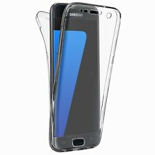 Luxury Full Body Protect Hard Slim Case Cover /Tempered Glass For Samsung iPhone
