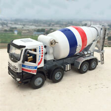 1:50 Scale  Cement Mixer Truck Kids Toy Engineering Vehicle Alloy Diecast Model