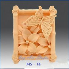Silicone Soap Mold/Candle Mold/Mould One Cavity - Butterfly Nectar
