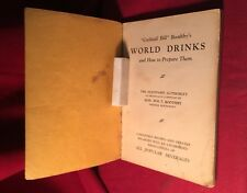 "BOOTHBY'S WORLD DRINKS - Prohibition - by the ""Godfather"" of The Mixed Drink"