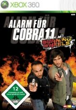 XBOX 360 allarme per Cobra 11 Burning WHEELS tedesco * * come nuovo