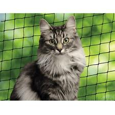 Katzenschutznetz inkl. Befestigungsmaterial - Balkonnetz - Schutznetz wetterfest