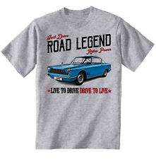 Fiat 2300 Coupe - COTTON GREY TSHIRT - ALL SIZES IN STOCK