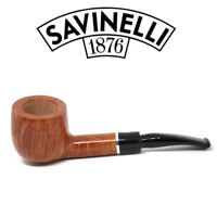 NEW Savinelli - Otello - Smooth  - 121 - 6mm Filter Pipe