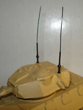 10 ANTENNES POUR SOLIDO  -DINKY TOYS - MILITAIRE