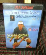 USA SOFTBALL INSTRUCTIONAL SERIES VOL.3: PRINCIPLES OF INFIELD POSITION PLAY DVD