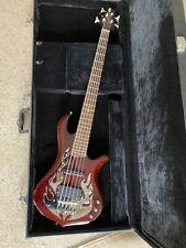 Traben Kore 5 Saiter E-Bass mit Warwick Rockcase inkl. Gurt /E-Bass/Koffer/Gurt