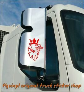 Scania Truck Griffin stickers for bodywork or glass or mirror casings