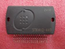1PCS STK412-440  Encapsulation:SIP-ZIP,Two-Channel Shift Power Supply Audio