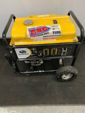 Used Subaru SGX 5000 Generator Emergency Hurricane Portable Gas Backup Power