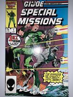 G.I. Joe Special Missions #1, VF/NM, 1986, Mike Zeck