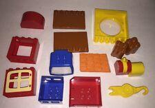 Lego Duplo Replacement * Bob the Builder * Misc. 16 Pieces  Parts