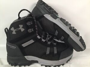 Under Armour Post Canyon Mid Waterproof Hiking Boots 1299203-001 Womens Size 7.5