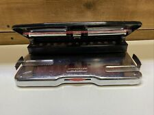 Punchodex P 100 Sturdy Adjustable Three Hole Punch By Rolodex Usa Paper Guides