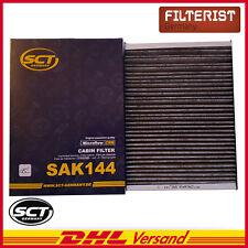 SCT Innenraumfilter Pollenfilter Aktivkohle Audi A3 (8L1), TT (8N9),VW Golf IV